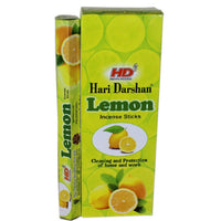 Hari Darshan Lemon Incense Sticks 20 Sticks per Packet