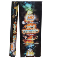 Hari Darshan Oodh and Sandal Incense Sticks 20 Sticks per packet
