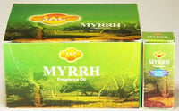 Sac Myrrh Fragance Oil 10 ml Bottle