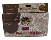 NANDITA ORIGINAL PALO SANTO INCENSE STICKS 15 GM PACKET FOR CLEANSING HEALING & PURIFY