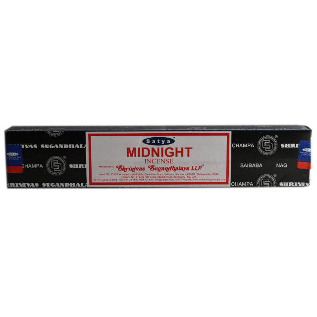 Satya Midnight Incense Sticks 15 grams