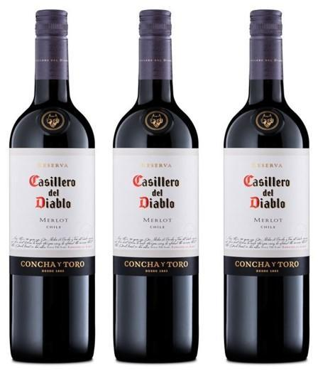 Three Merlot 70cl