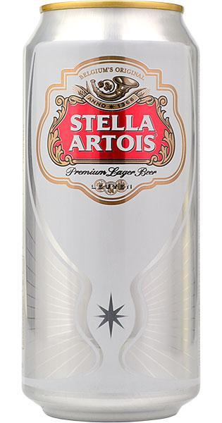 Stella Artois Can 440ml