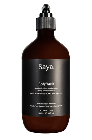 Body Wash Rose + Cedarwood