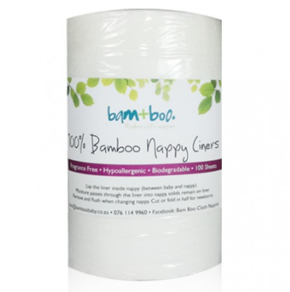 Bam+Boo Biodegradable Liners