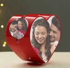 Spinning Heart Photoframe