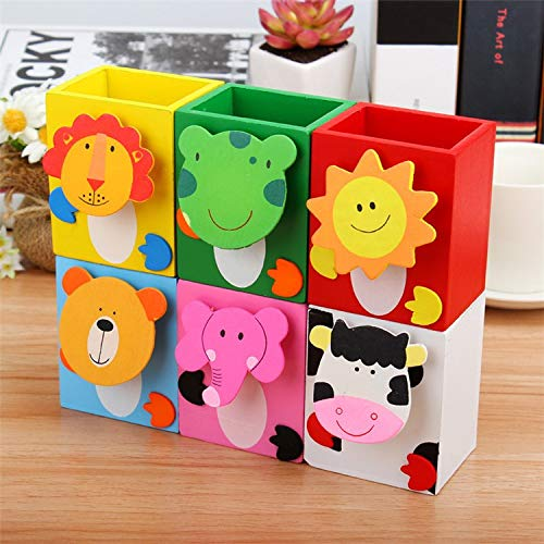 Cartoon Animal Pen Stand - 2Pcs, Stationery - The ShopCircuit
