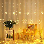 Hanging Lights Heart | Home Decoration