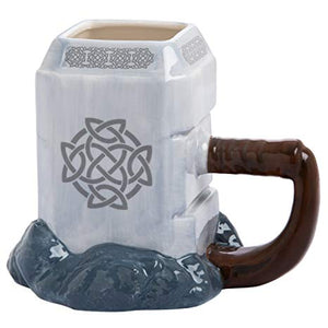 3D Thor Hammer Mug, Unique Gift - The ShopCircuit