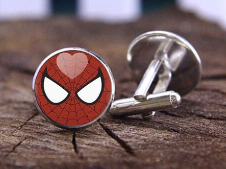 Spiderman Cufflinks, Unique Gift - The ShopCircuit
