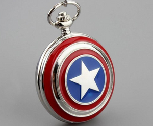 Cap. America Pocket Watch