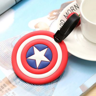 Cap America Luggage Tag, Unique Gift - The ShopCircuit