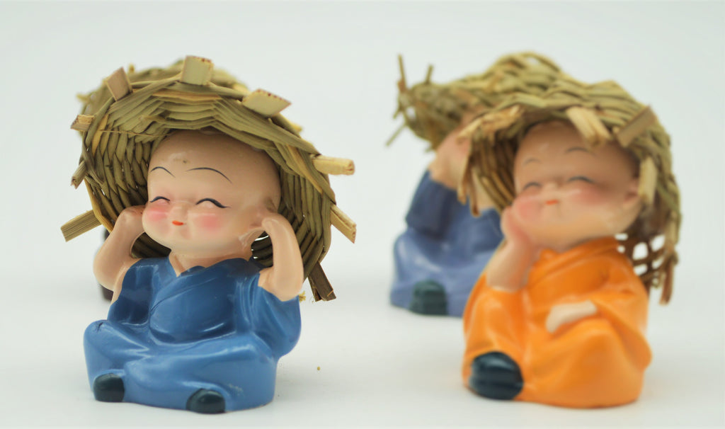 Baby Buddha Monks - Home Decoration