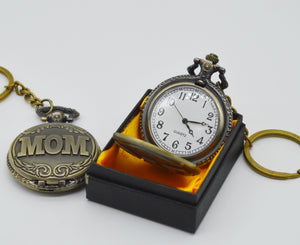 Antique Pocket Watch - Mom Dad