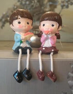 Couple Hanging Legs, Home Decor - The ShopCircuit
