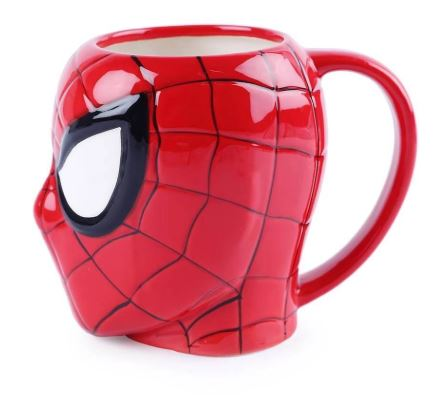 3D Spiderman Mug, Unique Gift - The ShopCircuit