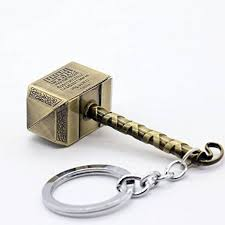 Thor Hammer Keychain, Unique Gift - The ShopCircuit