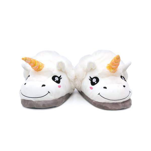 Unicorn Plush Slippers, Unique Gift - The ShopCircuit