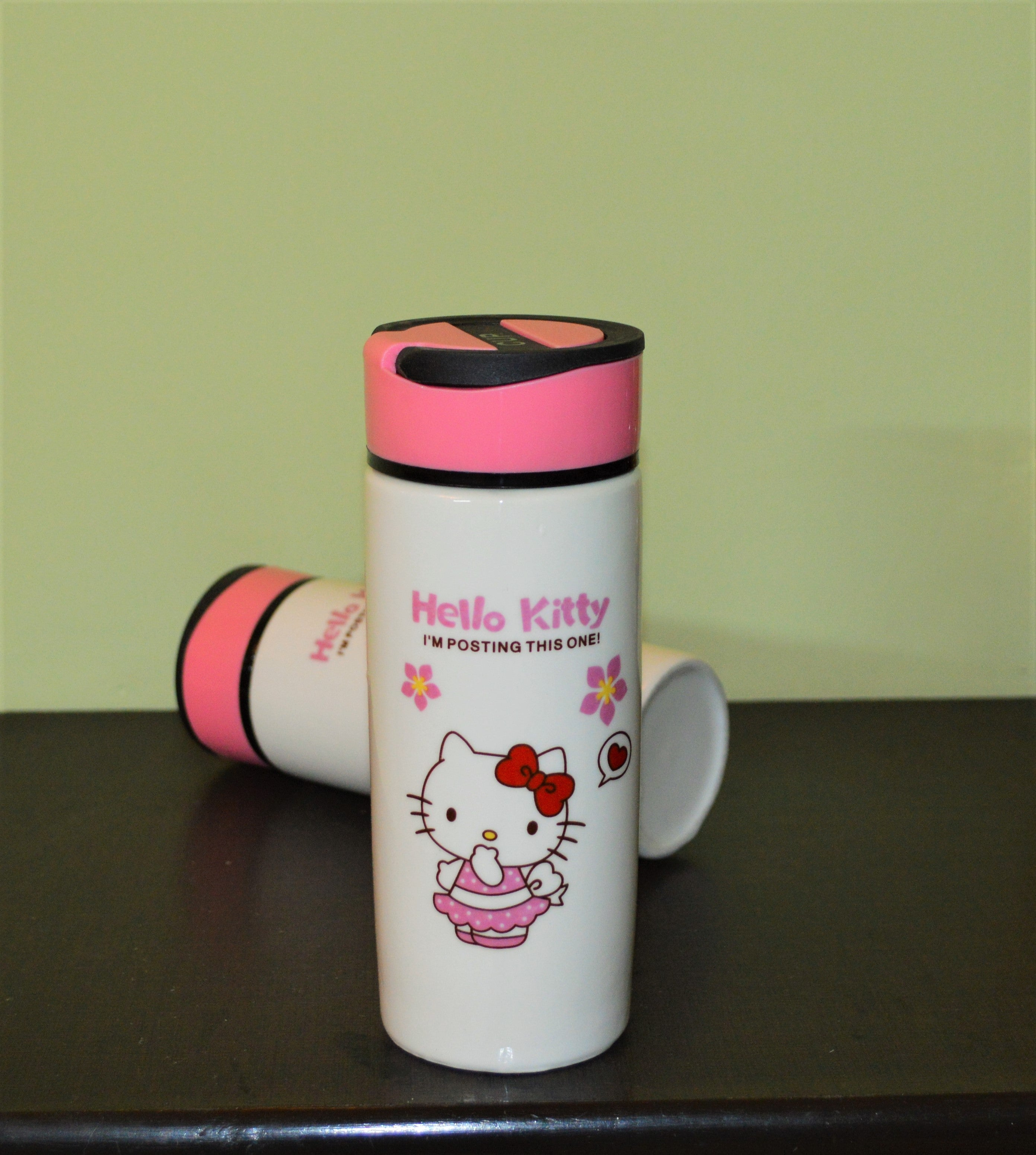 Kitty Ceramic Flask - The ShopCircuit