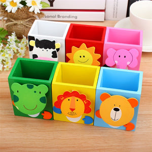 Cartoon Animal Pen Stand - 2Pcs - The ShopCircuit