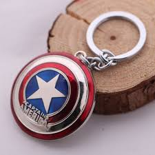 Cap. America Keychain, Unique Gift - The ShopCircuit