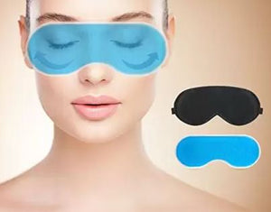 Batman Eye Mask with Gel Pad, Eye Mask - The ShopCircuit