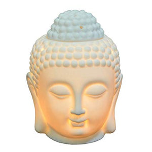 Buddha Oil Diffuser Ceramic Lamp, Home Decor - The ShopCircuit
