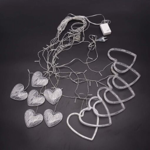 Heart Curtain - LED