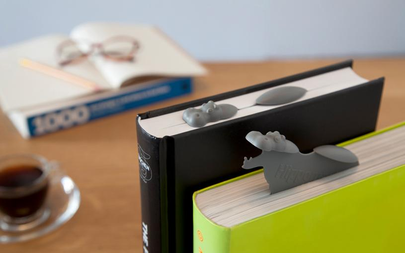 Hippo Bookmark, Funny - The ShopCircuit