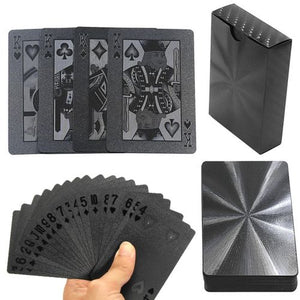 Black Playing Cards - Plastic, Playing Card - The ShopCircuit