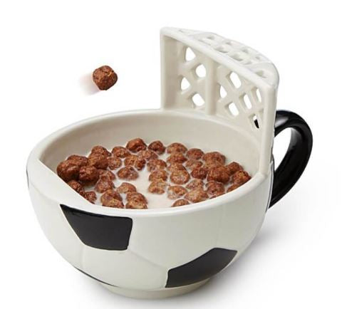 Football Cereal Bowl, Unique Gift - The ShopCircuit