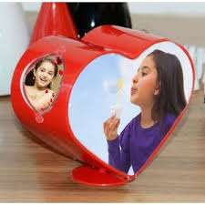 Spinning Heart Photo Frame, Unique Gift - The ShopCircuit