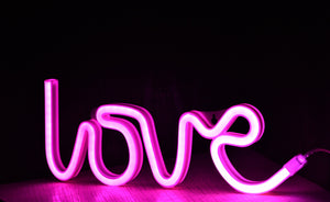 Love LED Neon Lamp | Valentine's Day gifts