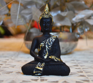 Buddha Idol Figurines for Car and Home Decoration