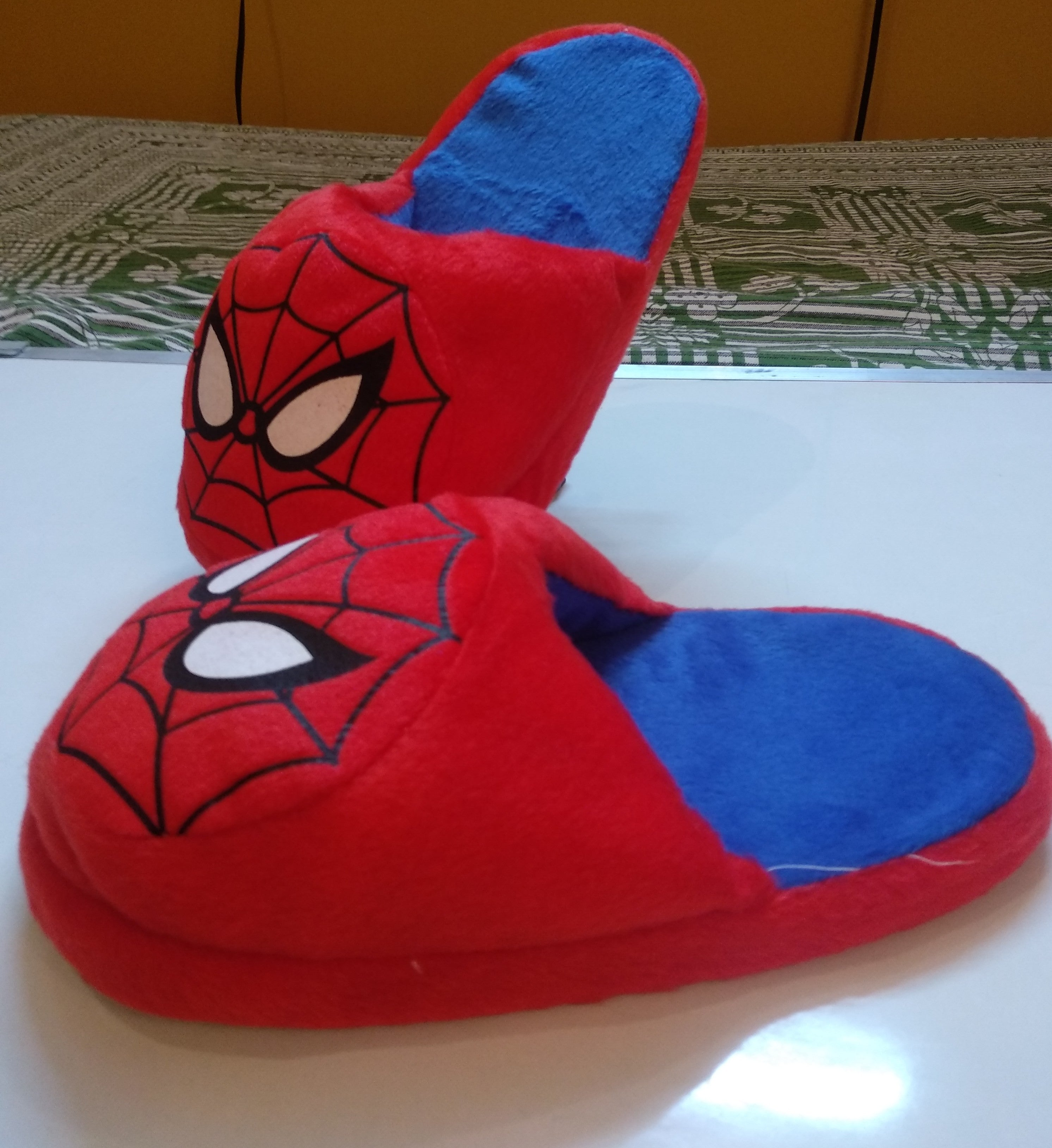 Spiderman Plush Slippers, Unique Gift - The ShopCircuit
