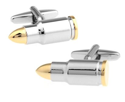 Bullet Cufflinks, Unique Gift - The ShopCircuit