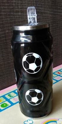Soccer Steel Sipper, Unique Gift - The ShopCircuit