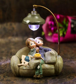 Couple Sitting on Sofa, Unique Gift - The ShopCircuit