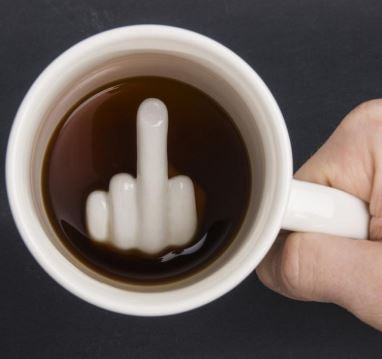Middle Finger Mug - The ShopCircuit