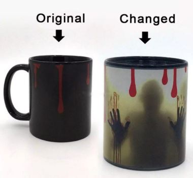 Ghost Color Changing Mug, Unique Gift - The ShopCircuit