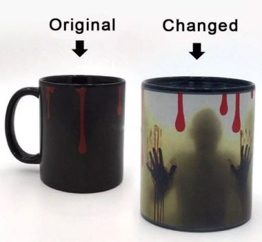 Ghost Color Changing Mug - The ShopCircuit