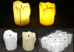 LED Candles (Pack of 12), Home Decor - The ShopCircuit