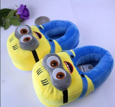 Minion Plush Shoes - The ShopCircuit