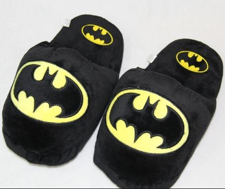 Batman Plush Slippers, Unique Gift - The ShopCircuit