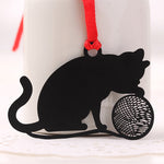 Metal Cat Bookmarks - 2Pcs, Unique Gift - The ShopCircuit