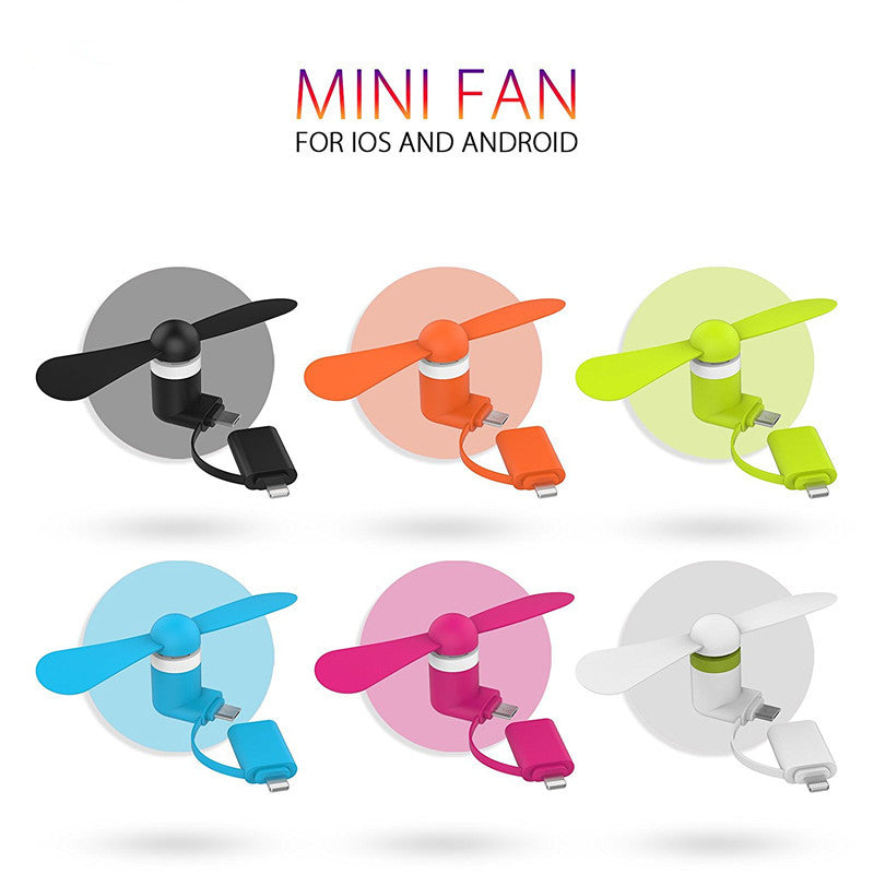 Smartphone Portable Fan, Unique Gift - The ShopCircuit