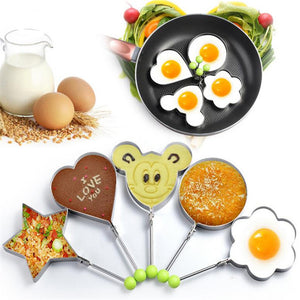 Stainless Steel Fried Egg Shaper, Kitchen - The ShopCircuit