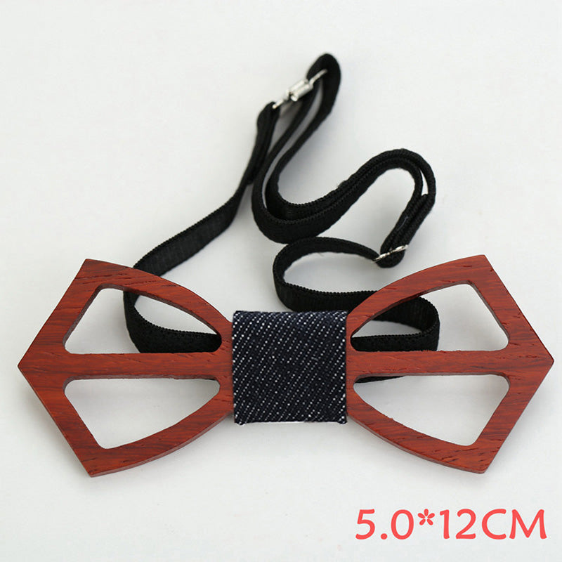 Wooden Bow Tie, Unique Gift - The ShopCircuit