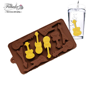 Silicone Ice Mould Guitar Shapes, Unique Gift - The ShopCircuit
