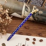 Metal case ballpoint pen with Crystal, Stationery - The ShopCircuit